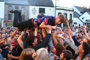 devon crowd surfing