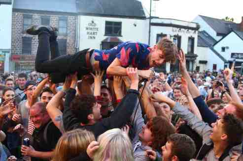 devon crowd surfing